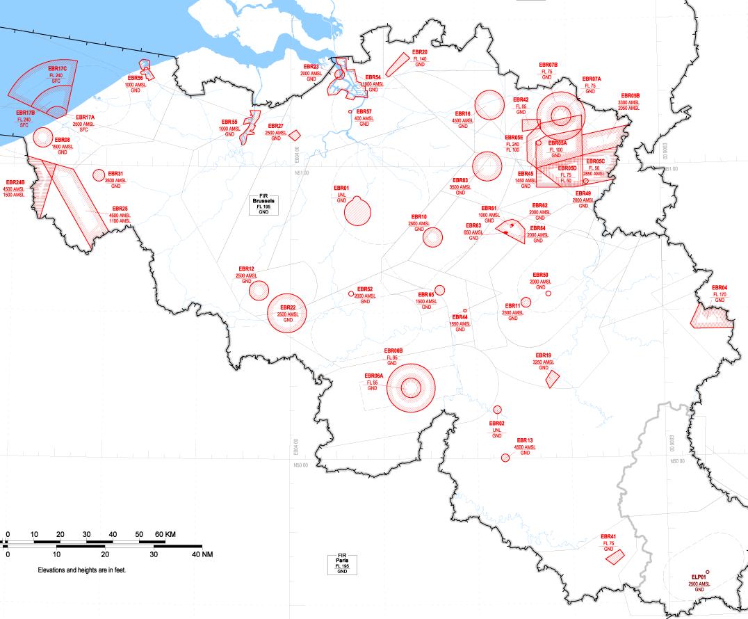 Belgium Map In Europe, Map 1 R Zones, Belgium Map In Europe