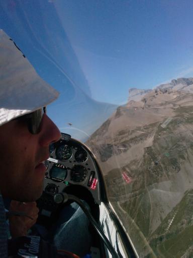 63  Look out in de Alpen