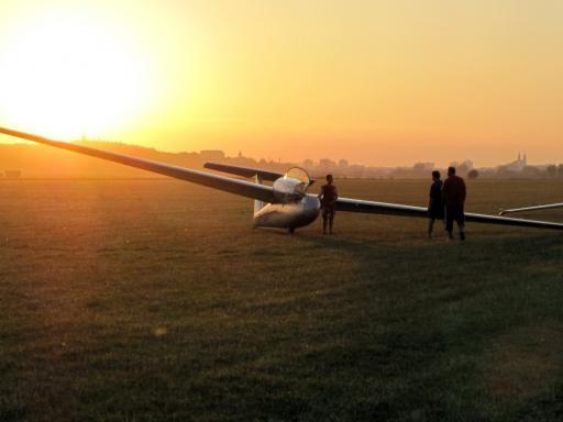 48  Laatste vlucht van de dag in Nitra