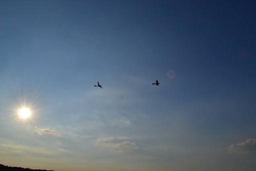 02  Sunset take off at EBZR