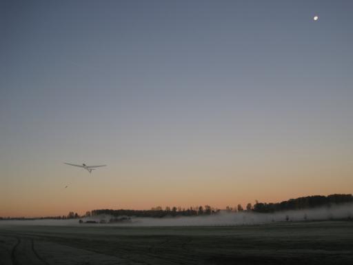 10  Lierstart tijdens het dauwvliegen   EBGG