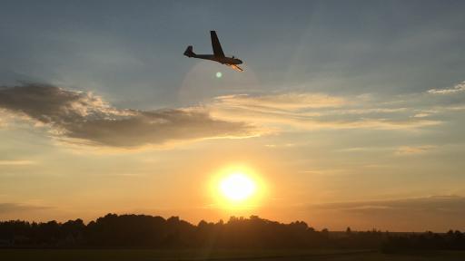 69  Sunset vluchten zijn de leukste vluchten, niet
