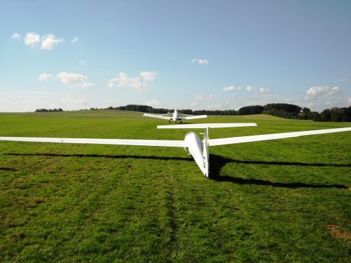 Ls3 juist voor take off te Schaffen