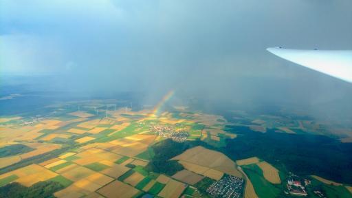 041  Na regen komt, een regenboog