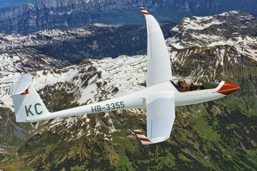 71  5000m boven de Alpen