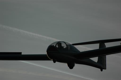 54  Sunset flight