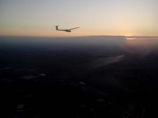 27  Sunset formation flight